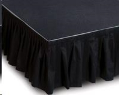 Rental store for STAGE SKIRTS, 12  x 20  BLACK in Boise ID