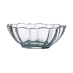 Rental store for GLASS, SCALLOPED BOWL 64OZ in Boise ID