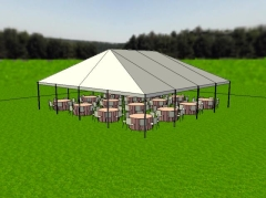Rental store for 40 X 40 KEDER FRAME TENT AZTEC in Boise ID