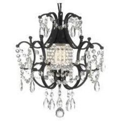 Rental store for CHANDELIER, LARGE BLACK CRYSTA in Boise ID