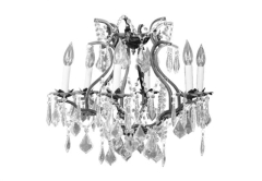 Rental store for CHANDELIER, SMALL BLACK CRYSTA in Boise ID