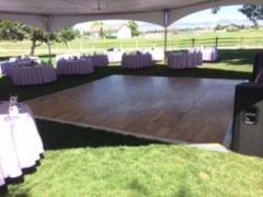Rental store for DANCE FLOOR 12  X 12  KIT OUTDOOR OK in Boise ID