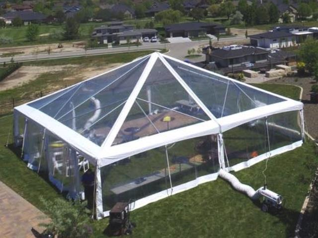 Where to find CLEAR FRAME TENTS in Boise